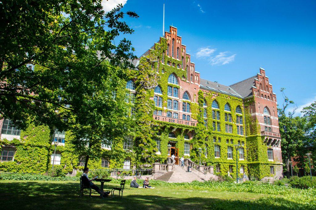 Já pensou você estudando nesse campus incrível da Lund University?