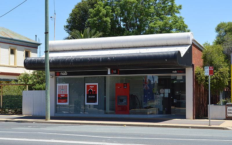 conta-bancária-na-austrália-agência-do-National-Australian-Bank-em-Finley
