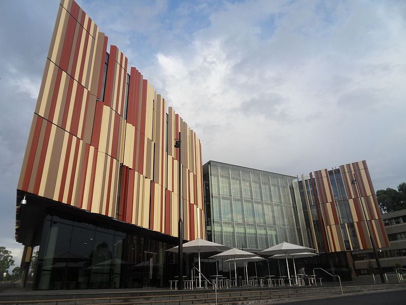 Biblioteca da Macquarie University.
