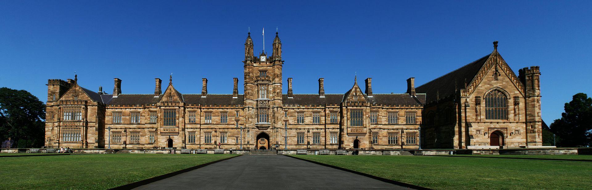 Por dentro da Universidade de Sydney