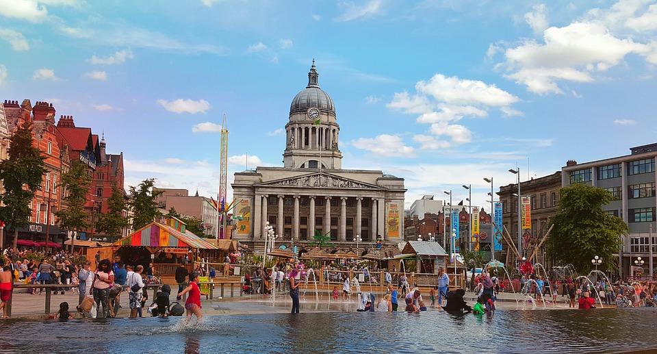 Verão na Europa: Nottingham