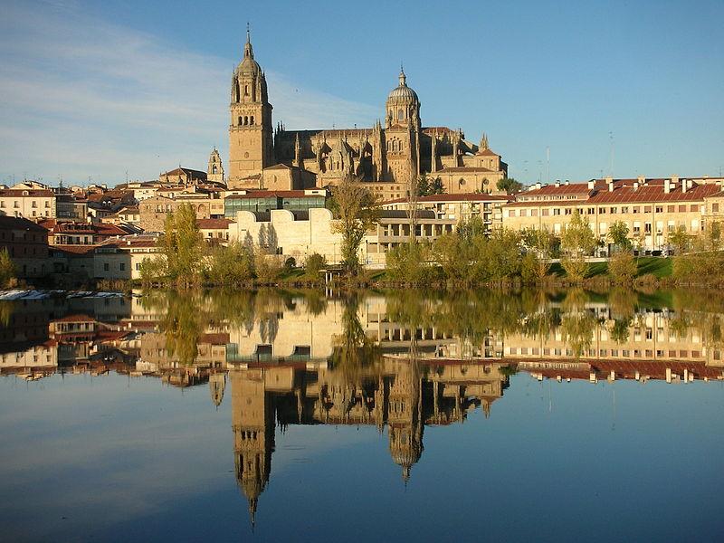Verão na Europa: Salamanca