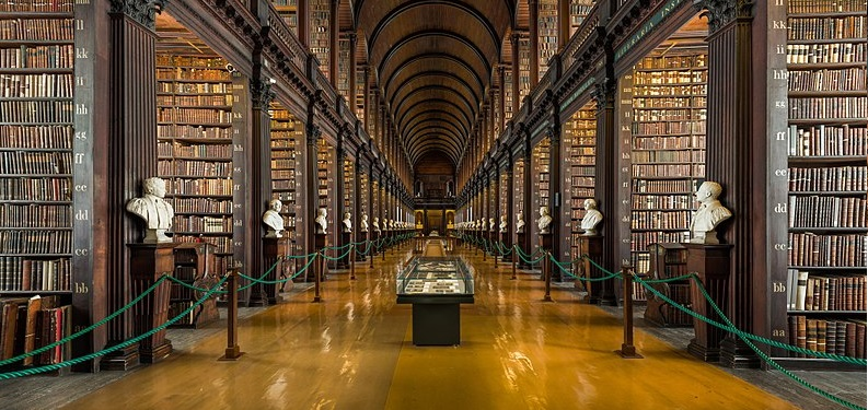 Por dentro da Trinity College Dublin