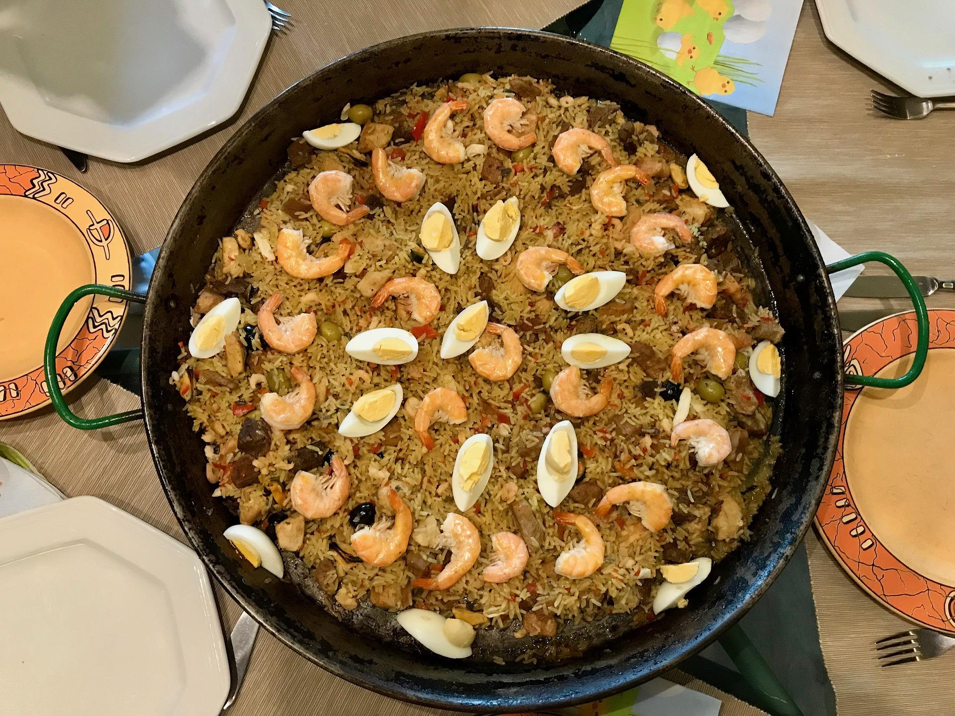 Paella-espanhola