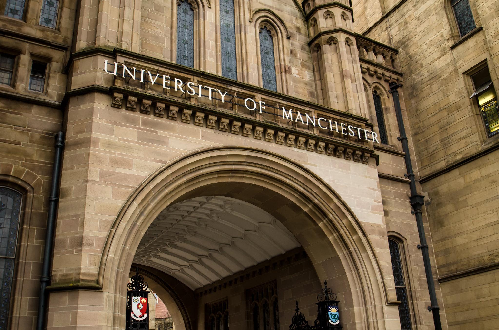 Universidade de Manchester: TOP 10 na Europa
