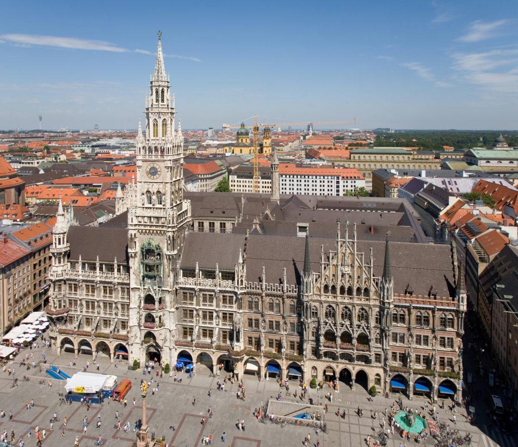 munique-cidades para fazer estágio na Alemanha