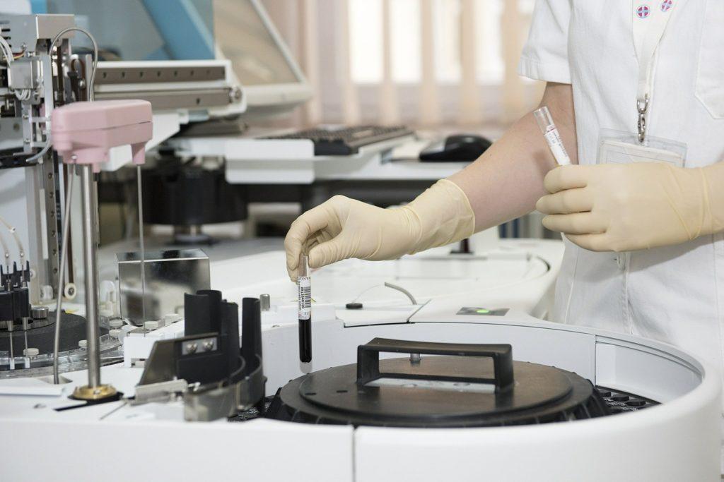 laboratório-Medicina no Reino Unido
