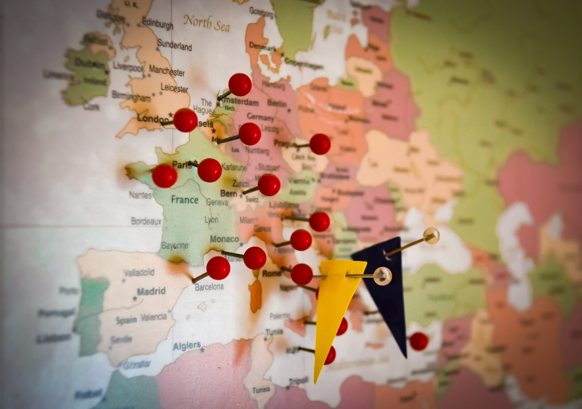 Só quem quer muito ir estudar na Europa vai acertar mais de 8 questões nesse teste
