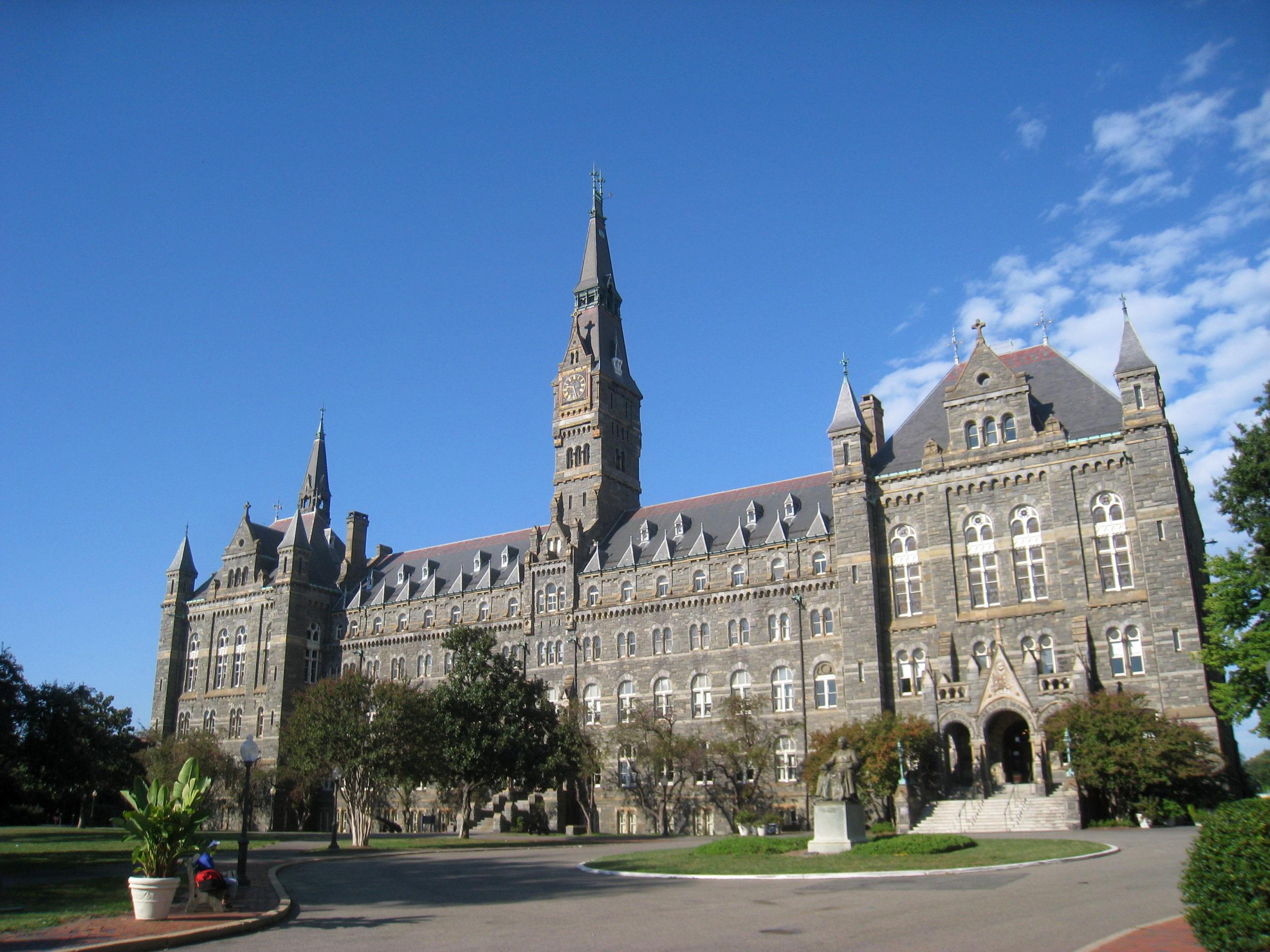Universidade-Georgetown-Healy-Hall