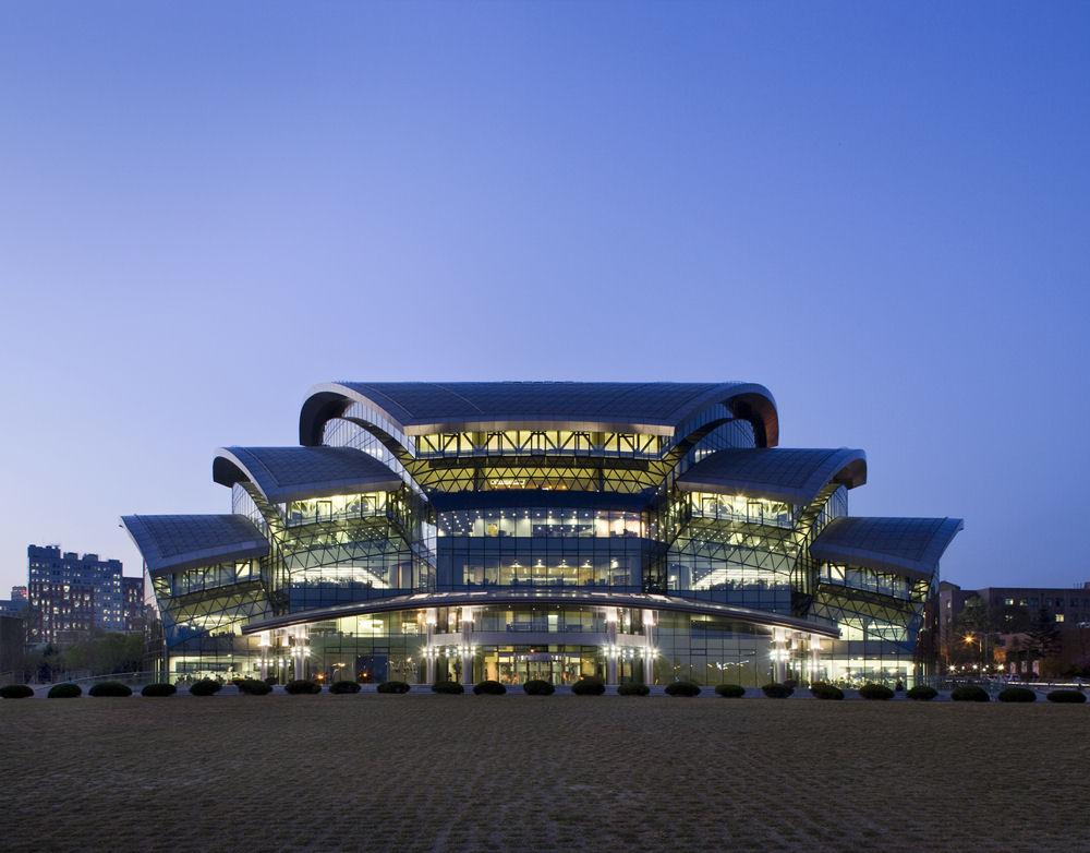 melhores-universidades-da-Coreia-do-Sul-Biblioteca-da-SKKU