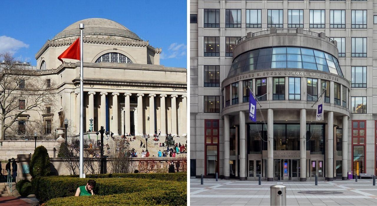 Columbia ou NYU: qual universidade de Nova York é melhor para você?