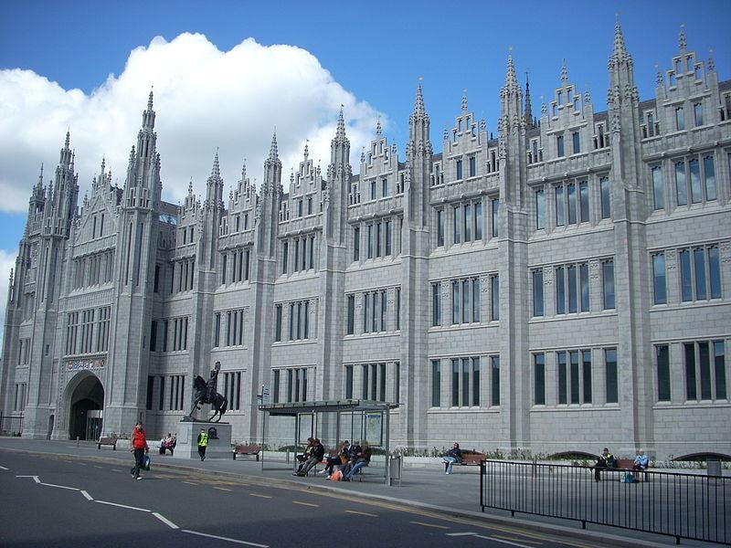 melhores-universidades-no-litoral-do-reino-unido-Marischal-College