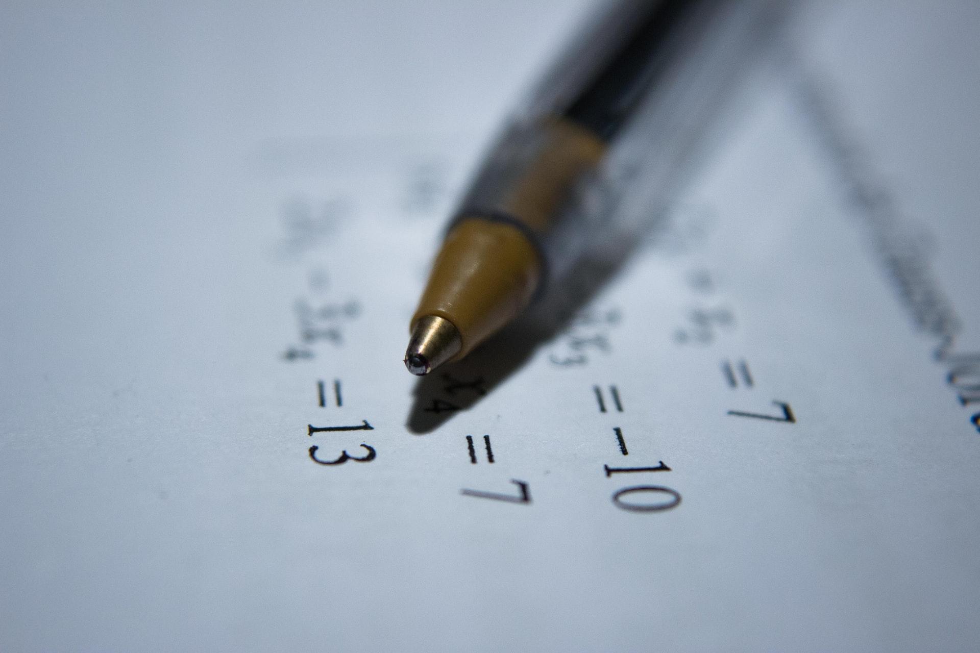 Qual é a nota média do SAT?