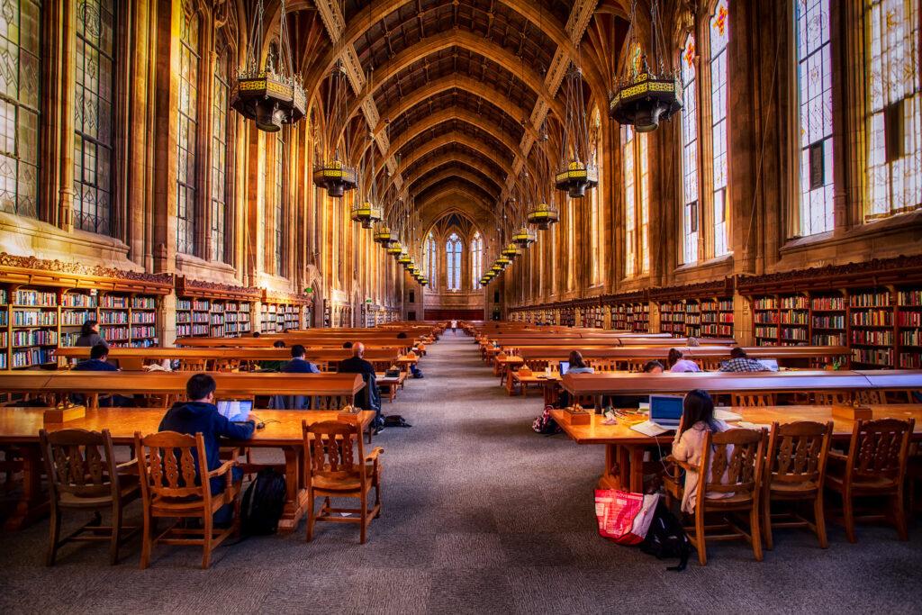 universidade-de-Washington-library