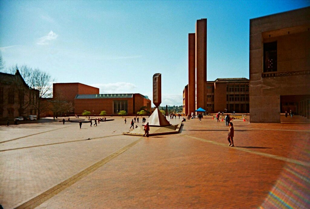 universidade-de-washington-red-square