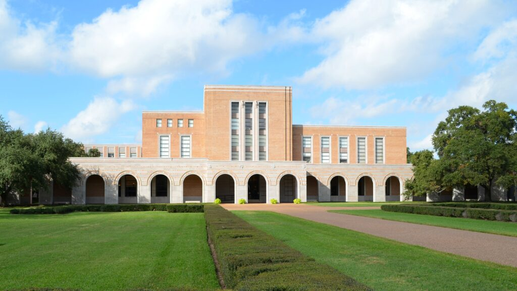 Fondren-Library-Universidade-Rice
