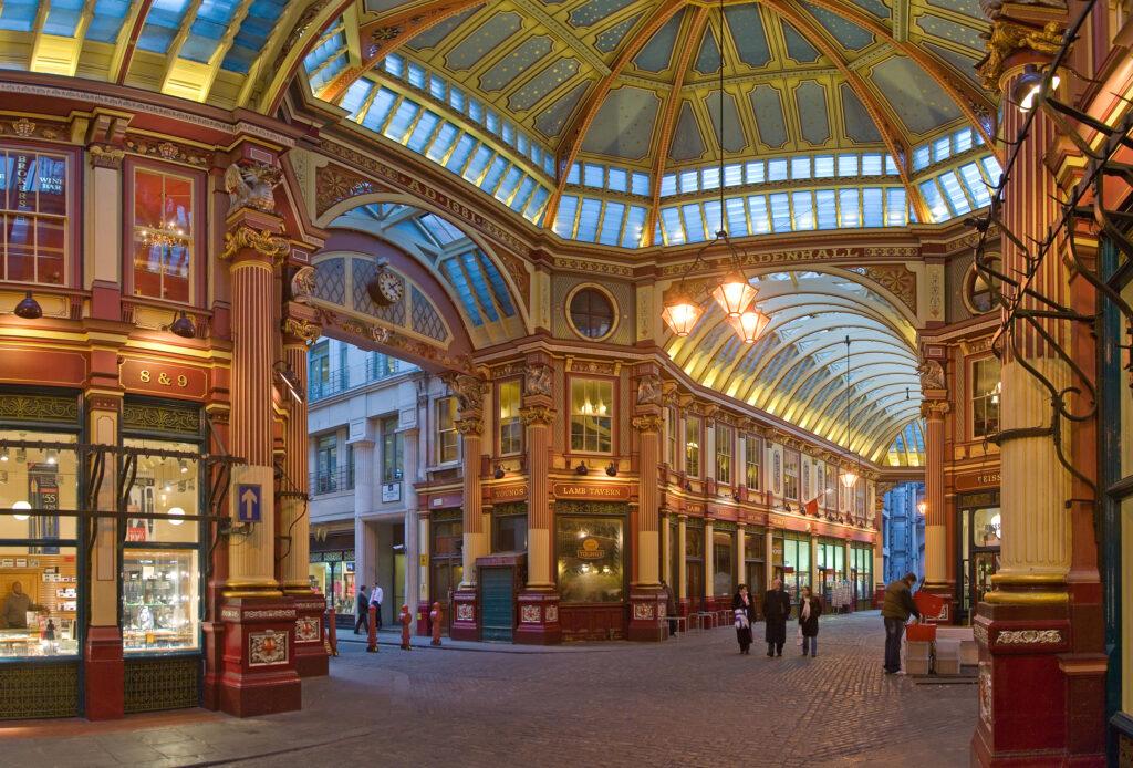 Leadenhall-Market-atrações-gratuitas-para-conhecer-em-londres